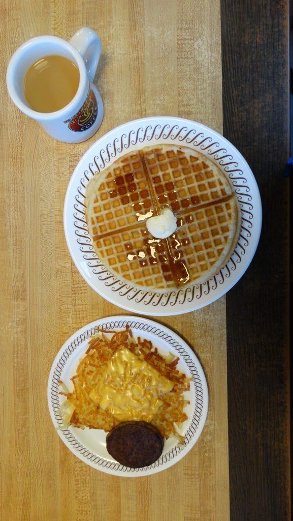 Hash Browns Waffle House