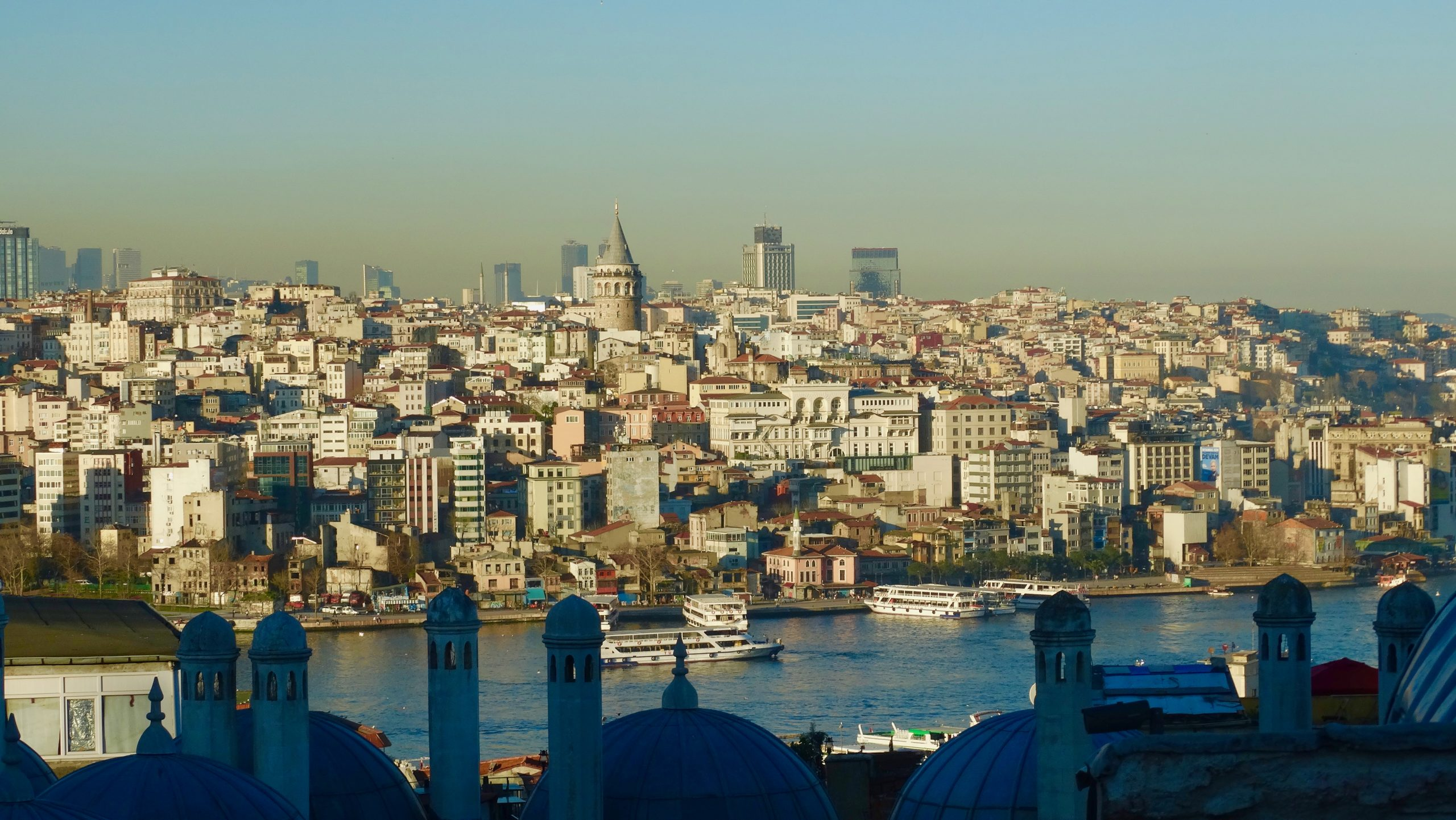 Istanbul view of Galata Tower